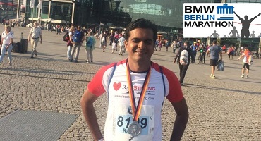 Successfully Completed Berlin Marathon