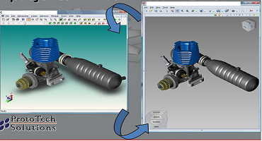 How to import and export AutoCAD (DWG/DXF)  files in your application?