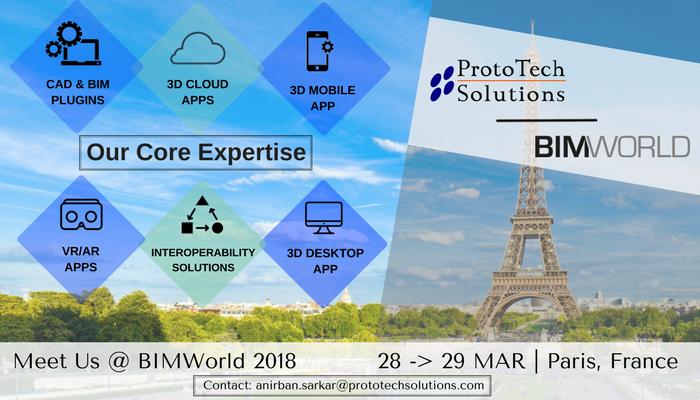 Meet ProtoTech Team in BIM World Paris 2018