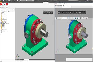 ProtoTech's '3D PDF Exporter' VS 'Publish 3D PDF' in Inventor