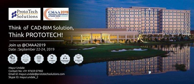 Meet ProtoTech Team in CMAA 2019 National Conference & Trade Show, Orlando, Florida, USA