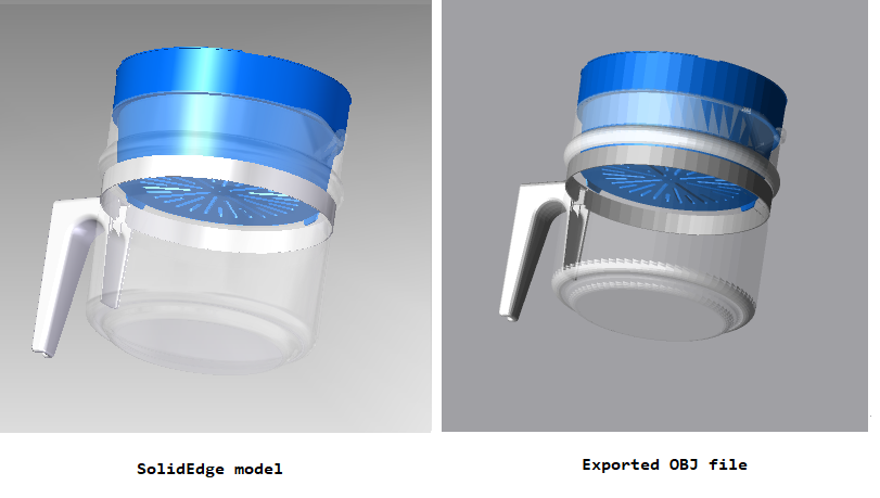 ProtoTech launches a new 3D CAD Plugin – 'OBJ Exporter for Solid Edge'