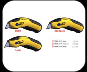 3d pdf fusion 360 mesh quality
