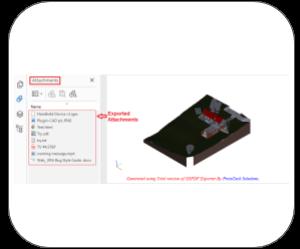 3d pdf revit Features attachments