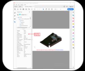 3d pdf revit Features properties