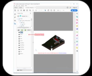 3d pdf revit Features views