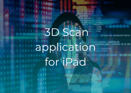 3D Scan application for iPad
