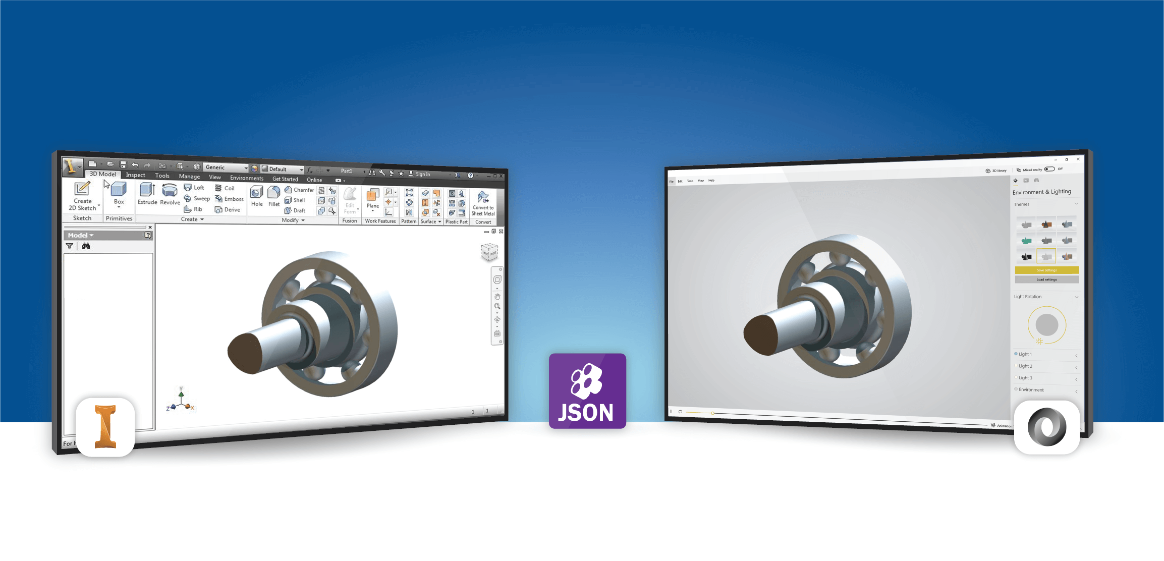 JSON Exporter For Inventor
