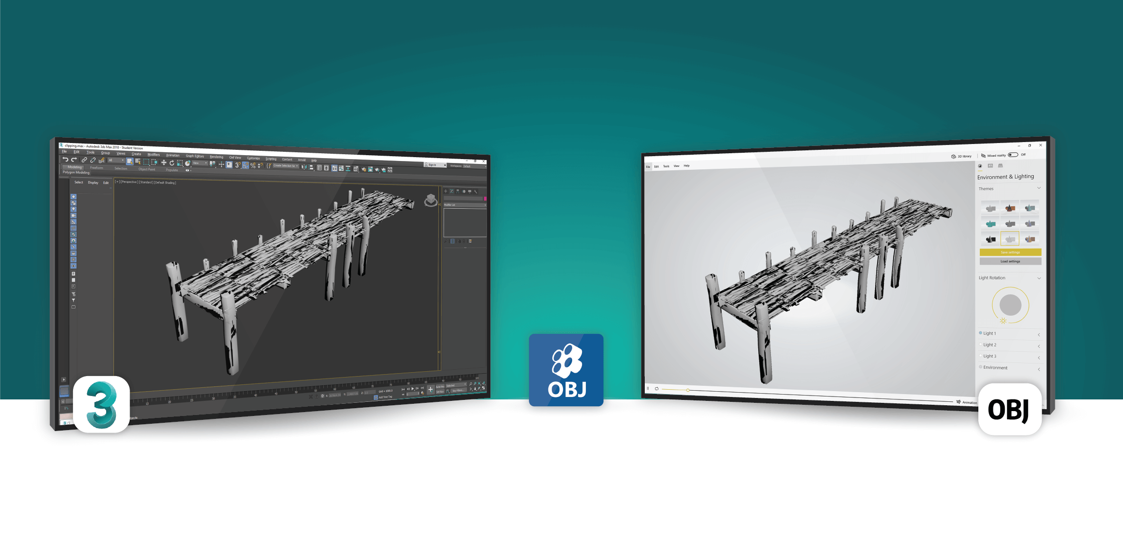 OBJ Exporter For 3DS Max