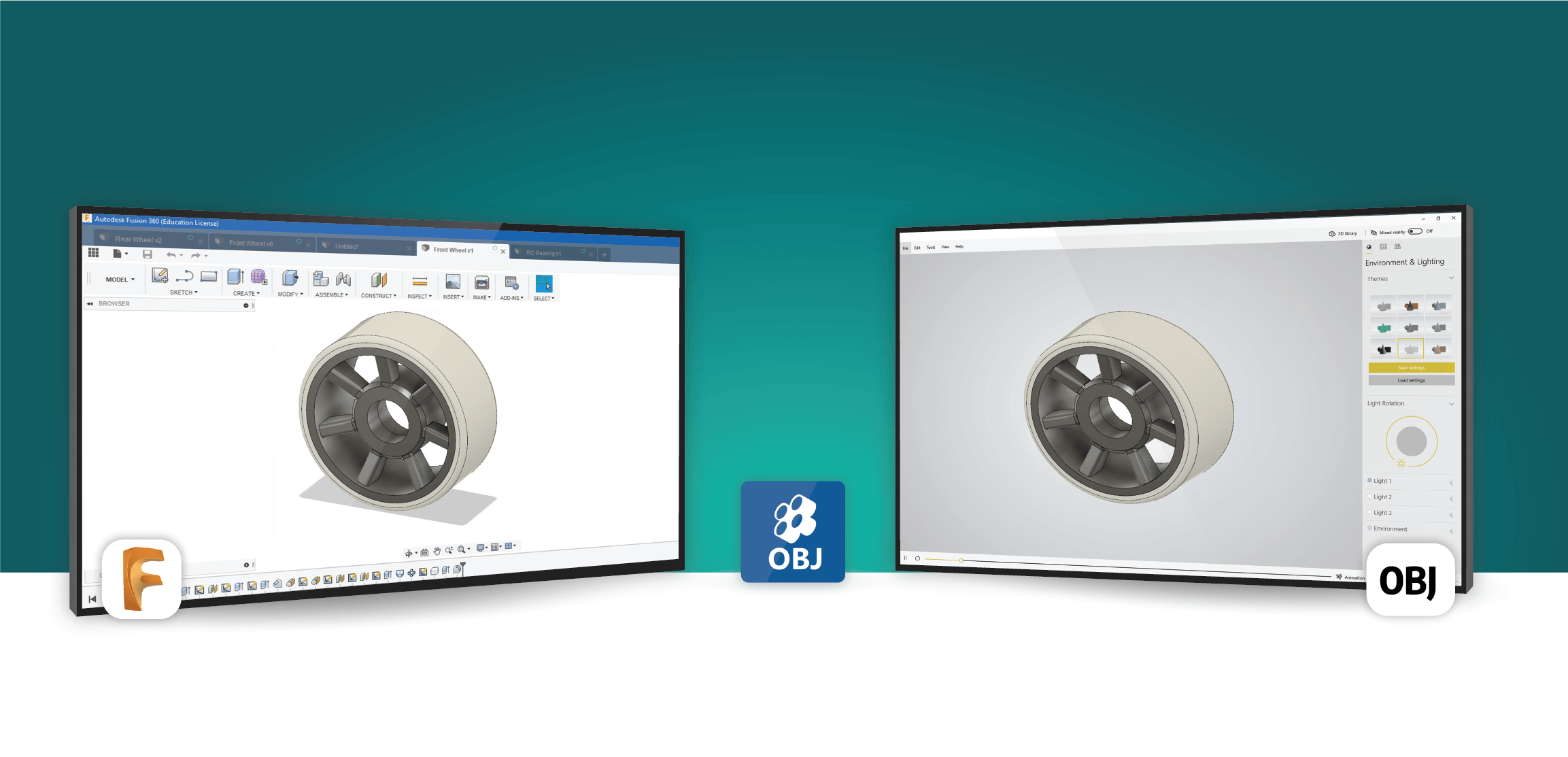 OBJ Exporter For Fusion 360