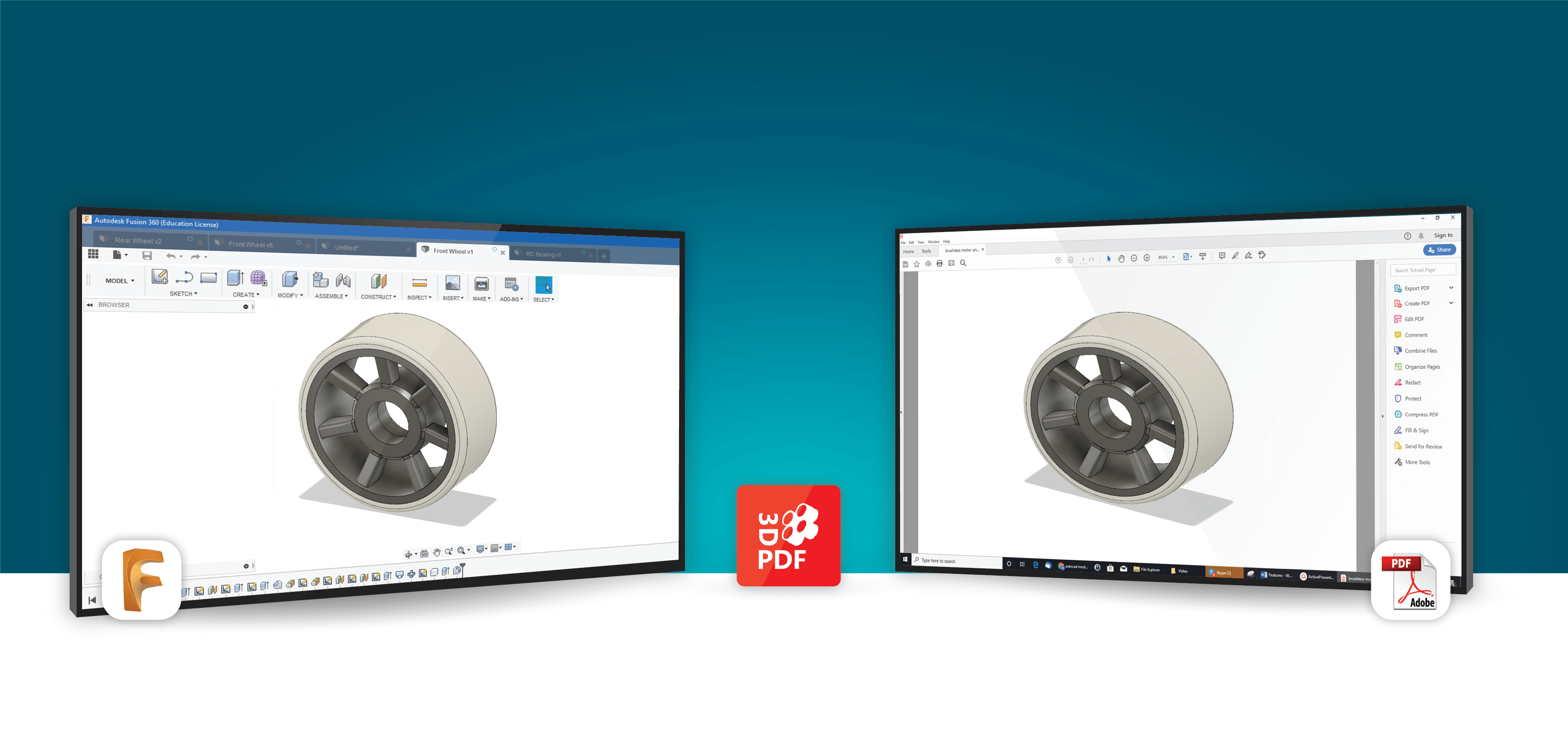 3D PDF Exporter For Fusion 360