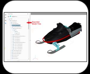3d pdf NavisWorks modal tree