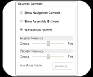 webgl onshape Features advance controls
