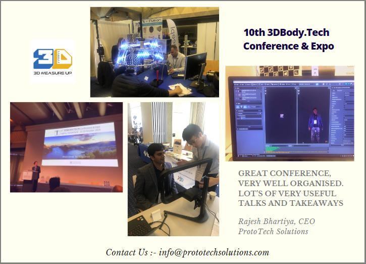 3DBODY.TECH Conference & Expo Oct 21-22, 2019